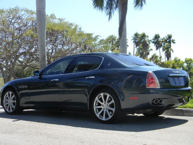2005 Maserati Quattroporte Classic Italian Cars For Sale