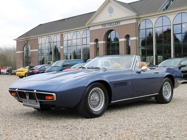 1970 maserati ghibli spyder 4 7 classic italian cars for. Black Bedroom Furniture Sets. Home Design Ideas