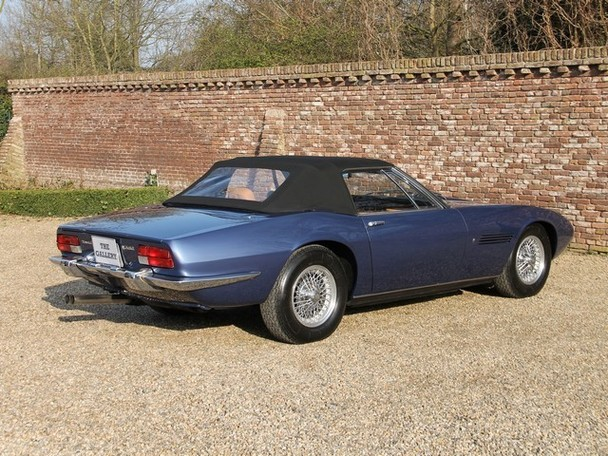 1970 maserati ghibli spyder 4 7 classic italian cars for sale. Black Bedroom Furniture Sets. Home Design Ideas