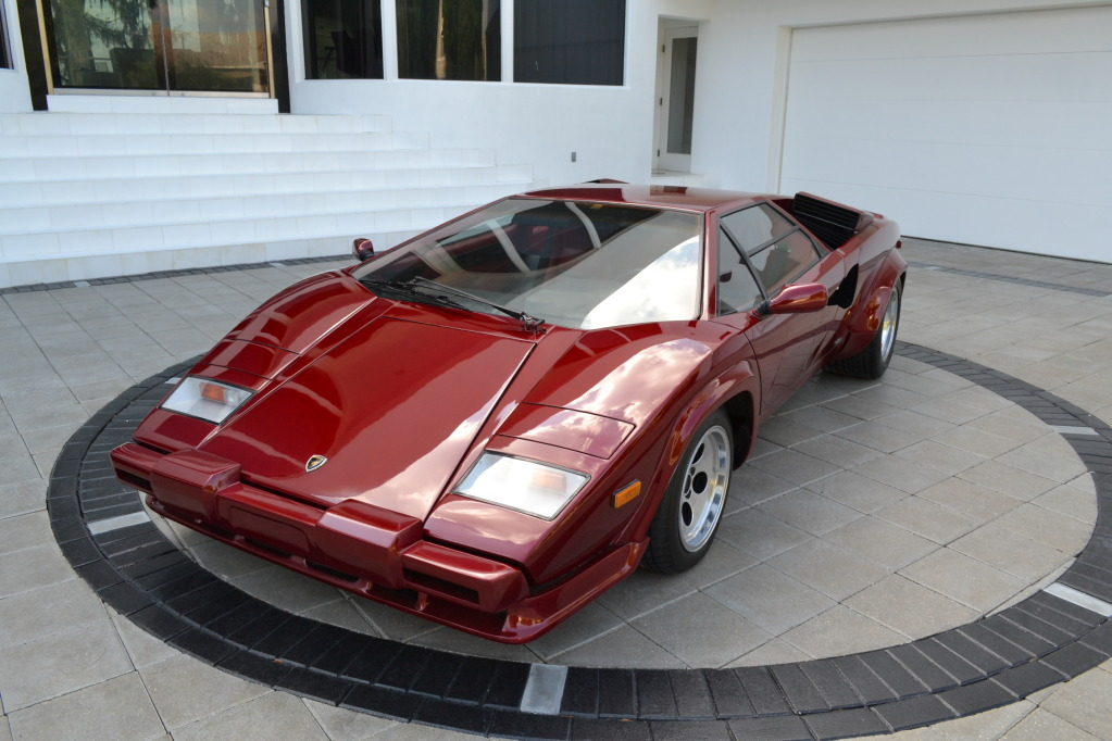 1985 lamborghini countach 5000s | classic italian cars for sale