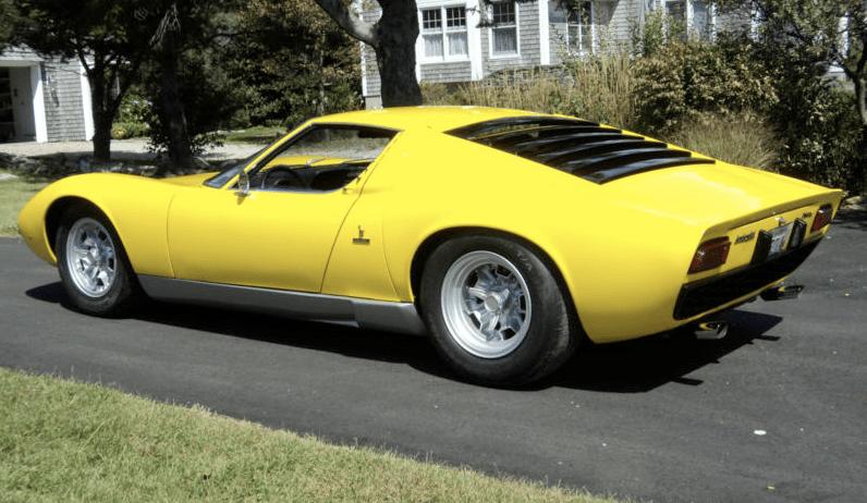 1969 Lamborghini Miura S Classic Italian Cars For Sale