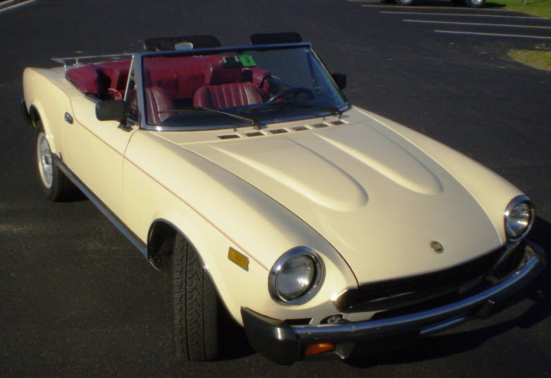 1981 fiat spider 2000 classic italian cars for sale rh classicitaliancarsforsale com 1981 fiat spider owners manual 1981 Fiat Spider 2000