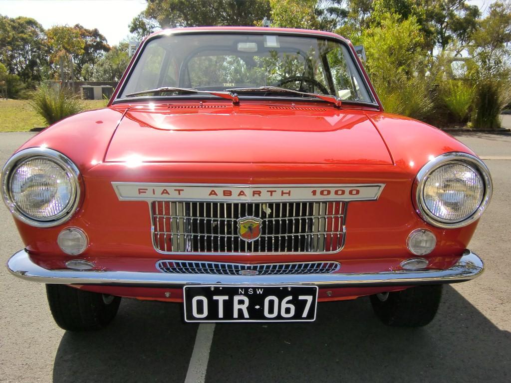 1967 fiat abarth 1000 otr classic italian cars for sale. Black Bedroom Furniture Sets. Home Design Ideas