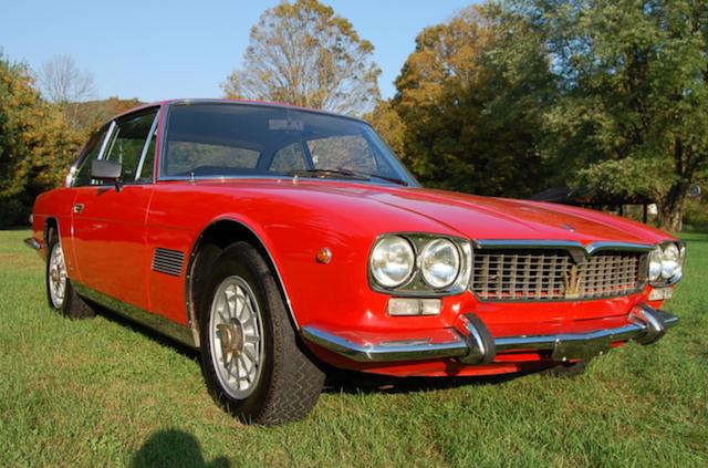 1968 maserati mexico classic italian cars for sale. Black Bedroom Furniture Sets. Home Design Ideas