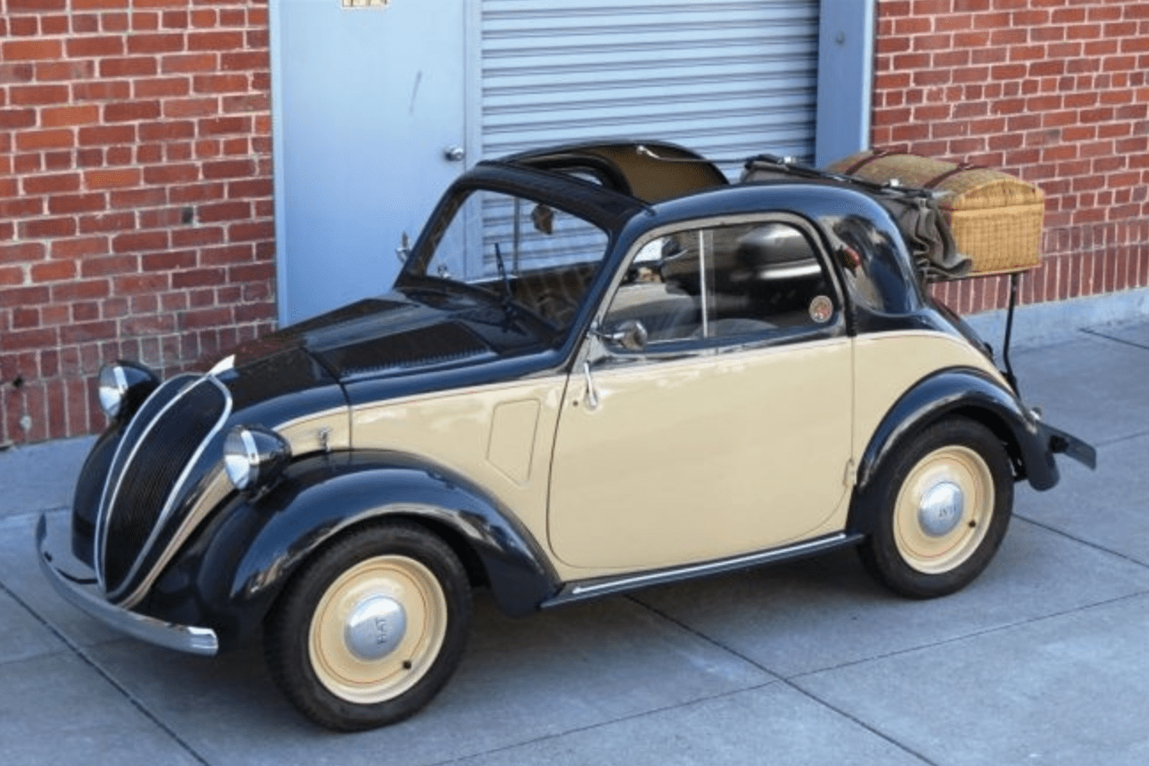 1947 fiat topolino 500a classic italian cars for sale for Vintage motor cars for sale