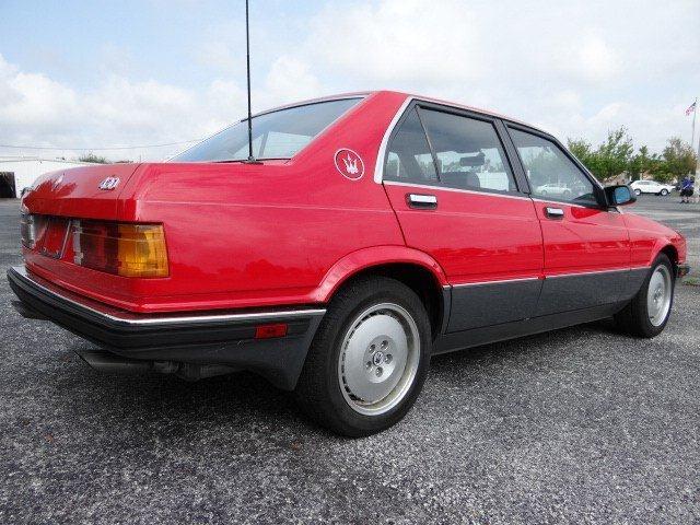 1989 Maserati 430   Classic Italian Cars For Sale