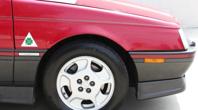 1991 Alfa Romeo 164S – REVISIT