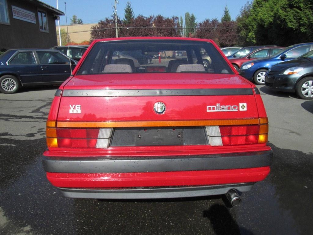 1987 alfa romeo milano gold