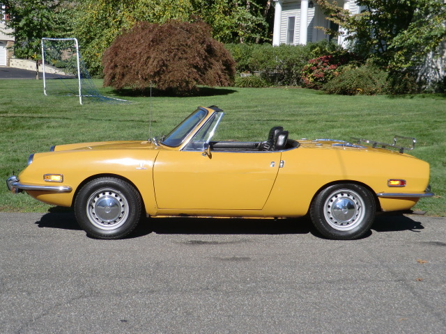 1970 fiat 850 spider classic italian cars for sale. Black Bedroom Furniture Sets. Home Design Ideas