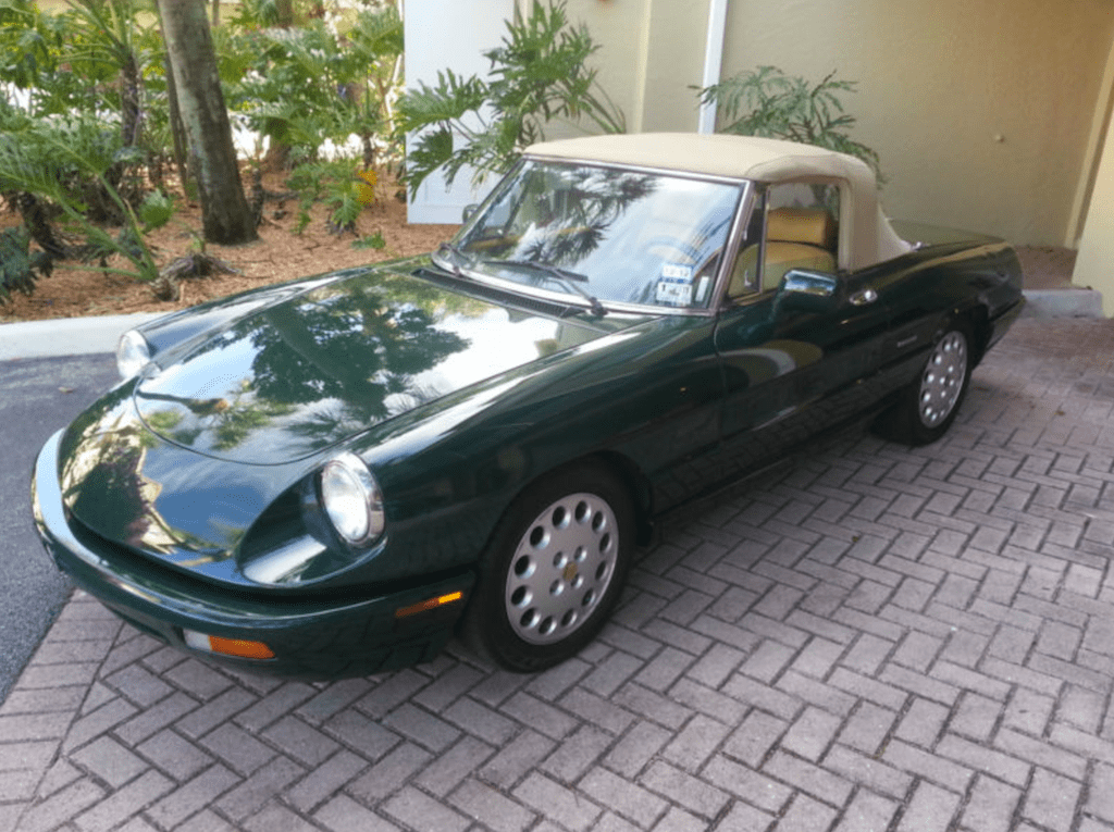 Alfa Romeo Spider Commemorative Edition Classic Italian Cars - 1993 alfa romeo spider for sale