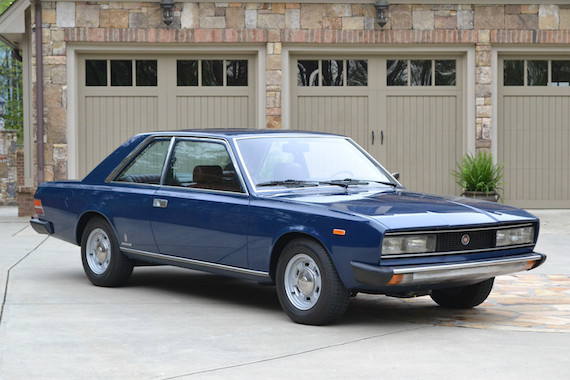 1973 Fiat 130 Coupe  U2013 Revisit