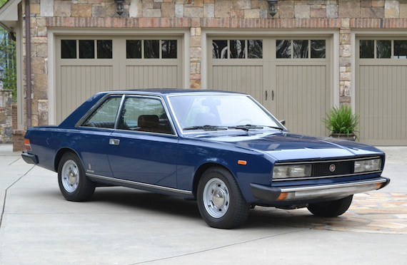 1973 Fiat 130 Coupe – REVISIT