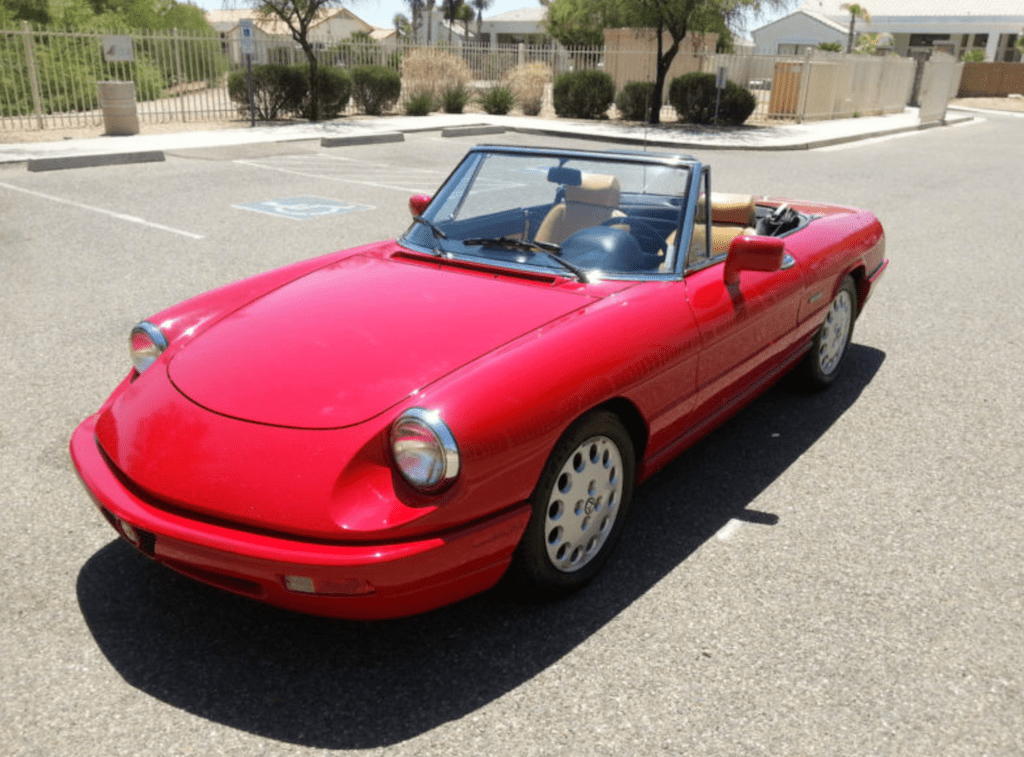 1991 alfa romeo spider veloce classic italian cars for sale. Black Bedroom Furniture Sets. Home Design Ideas