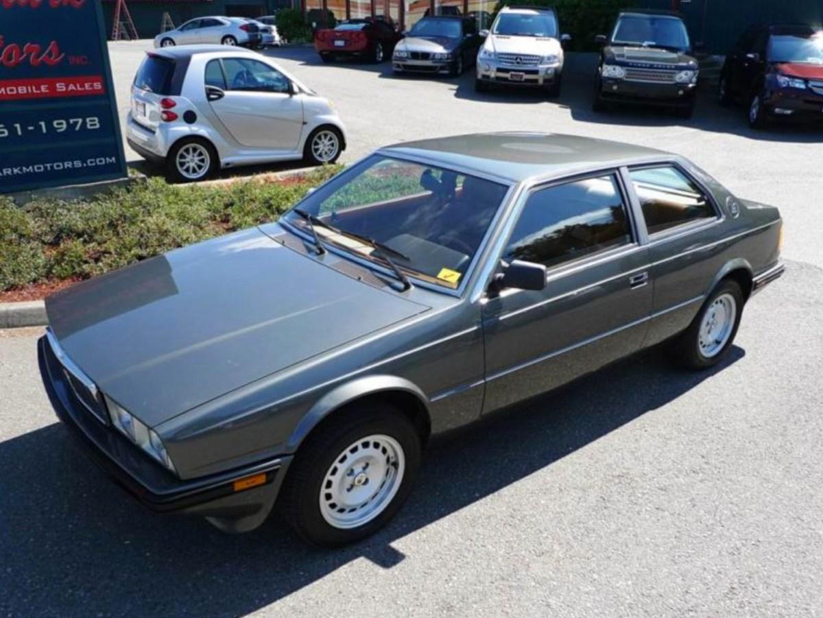 1985 Maserati Biturbo | Classic Italian Cars For Sale