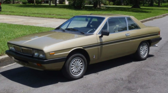 1982 Lancia Gamma Coupe 2.5