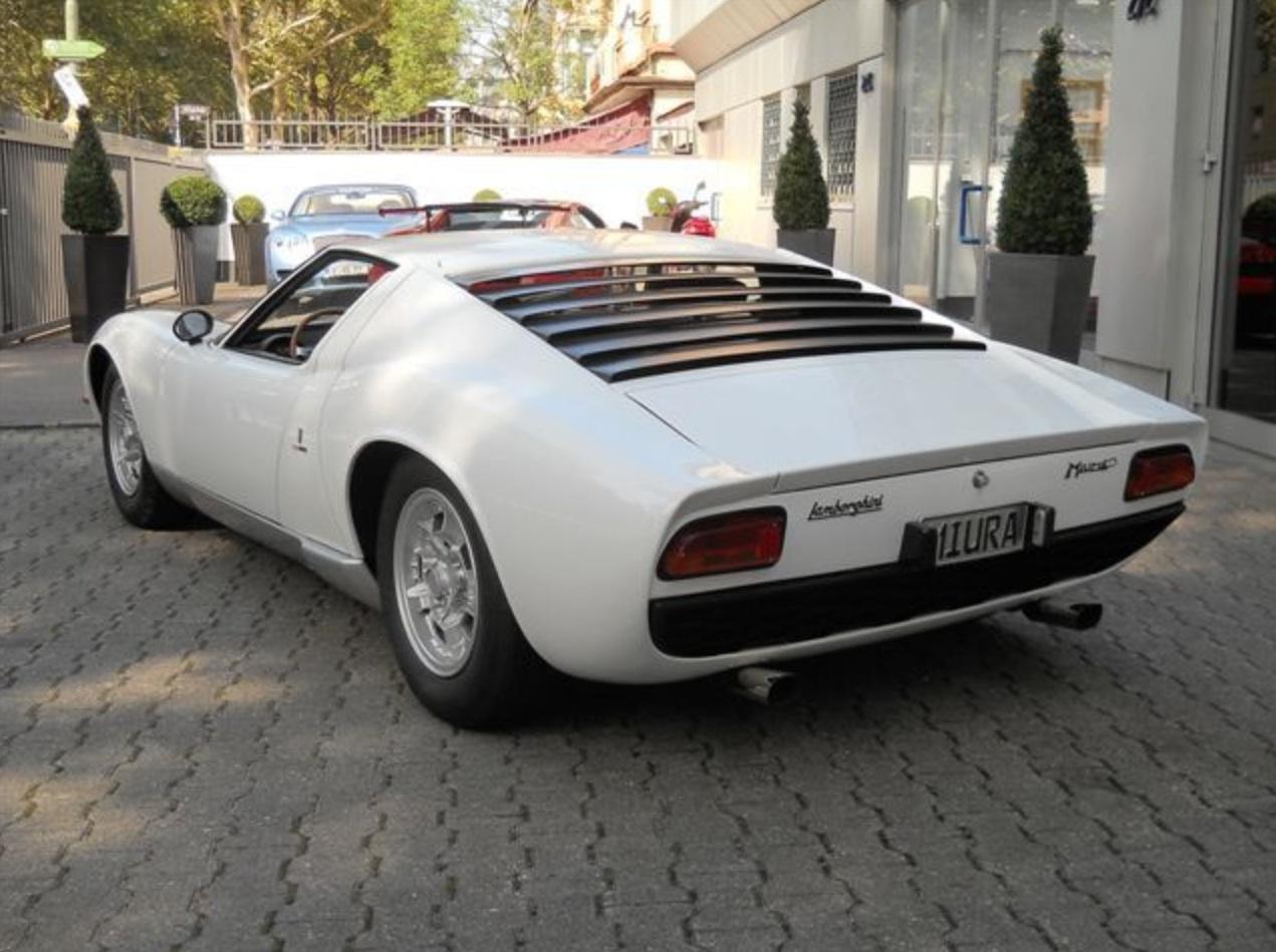 1967 lamborghini miura p400 classic italian cars for sale. Black Bedroom Furniture Sets. Home Design Ideas