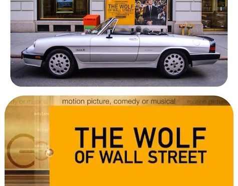 "1987 Alfa Romeo Spider Quadrifoglio as seen in ""The Wolf of Wall Street"""