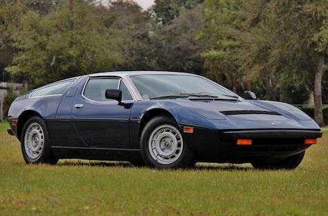 Mid-Engined Maseratis: 1977 Maserati Bora & Merak SS