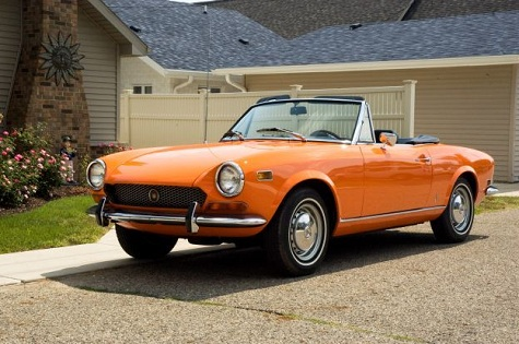 1971 fiat spider for sale