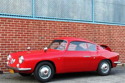 1960 Fiat Abarth 750GT Zagato Sestriere
