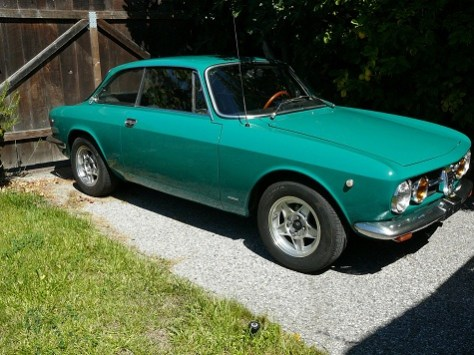 1969 alfa romeo gtv 1750 classic italian cars for sale. Black Bedroom Furniture Sets. Home Design Ideas