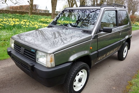 1988 fiat panda 4 4 sisley limited edition classic for Panda 4x4 sisley off road