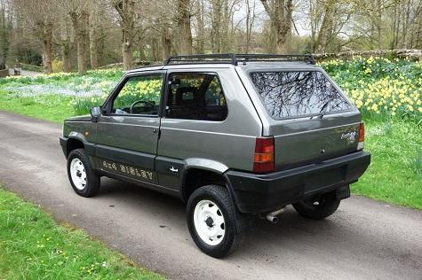 1988 fiat panda 4 4 sisley limited edition classic for Panda 4x4 sisley off road