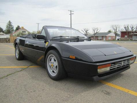1988 ferrari mondial cabriolet classic italian cars for sale. Black Bedroom Furniture Sets. Home Design Ideas