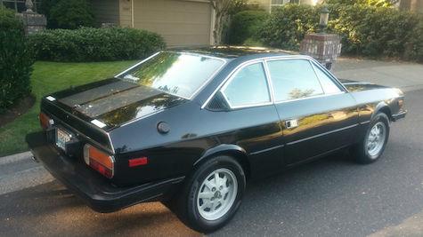 1981 Lancia Beta 2000 with 37,000 miles