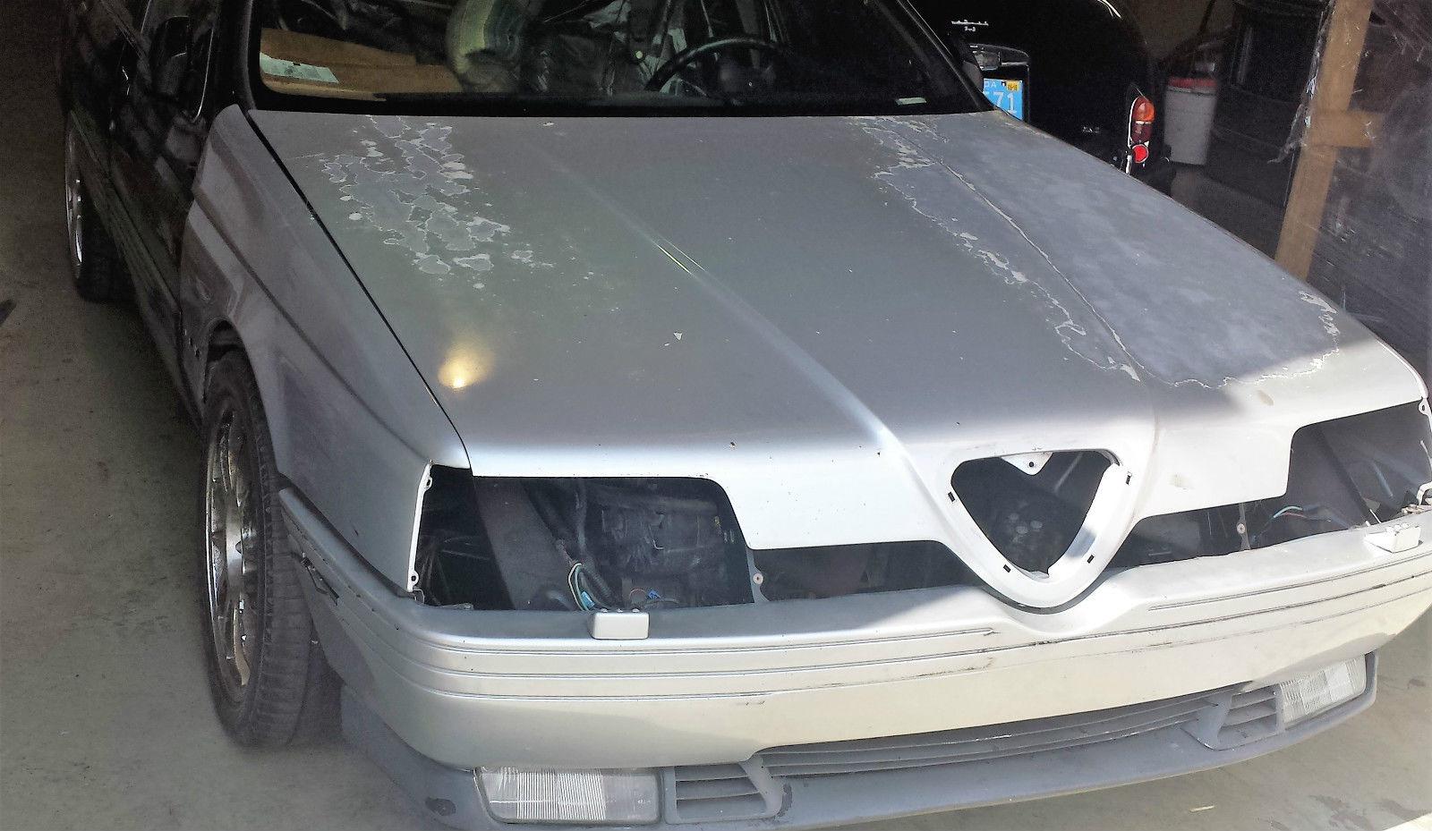 1991 alfa romeo 164 s project | classic italian cars for