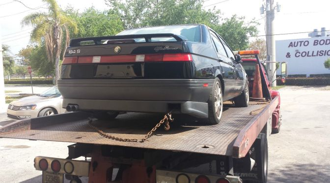 1991 Alfa Romeo 164 S project