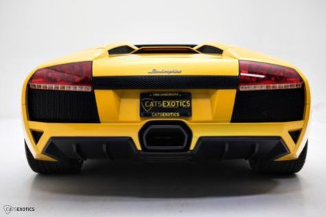 2009 Lamborghini Murcielago Lp640 4 Roadster 6 Speed Manual