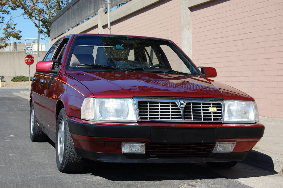 1988 lancia thema 8.32 | classic italian cars for sale
