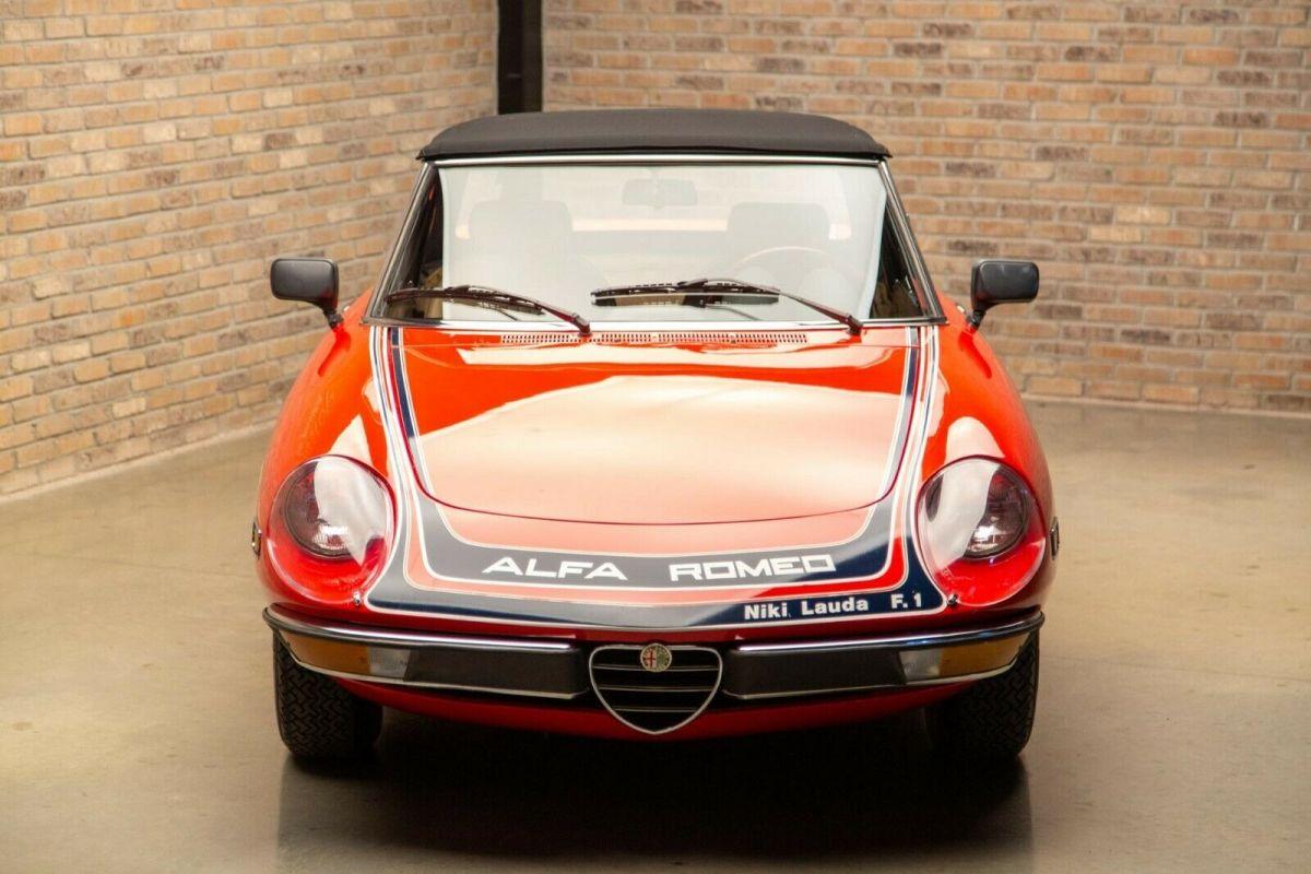 1978 Alfa Romeo Spider Niki Lauda Edition | Classic ...