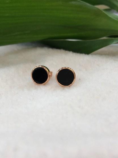 omphacite jadeite earrings