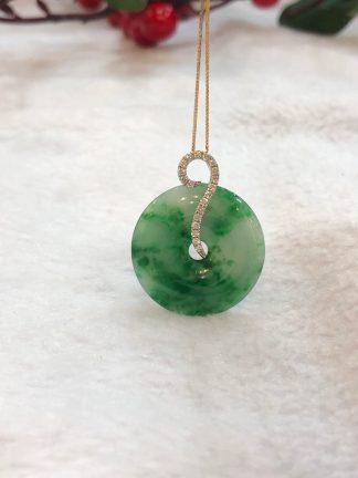 green jade safety coin