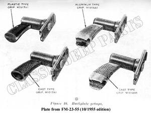 Browning M1919 Caliber .30 machine gun (Replica)