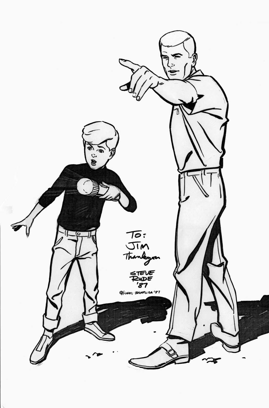 The Real Adventures Of Jonny Quest Coloring Pages