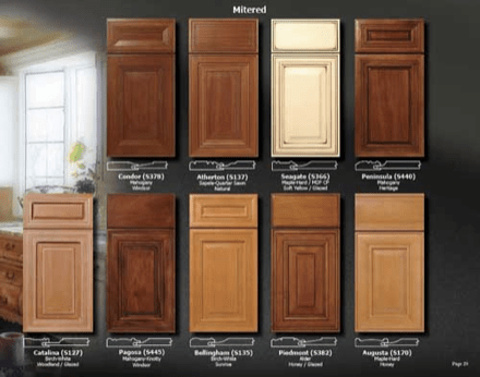 unfinished discount kitchen cabinets lowes countertops laminate staining wooden | roselawnlutheran