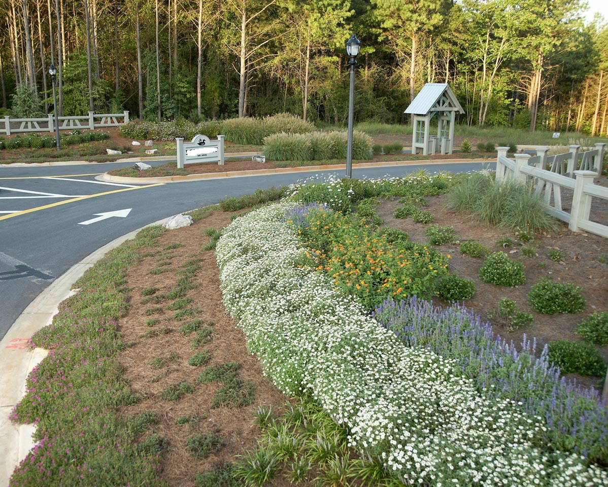 Water Efficient Community Entrance