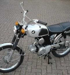 show us yours lawrence murphy s 1967 honda cl90 classic motorcycle mechanics [ 2592 x 1944 Pixel ]