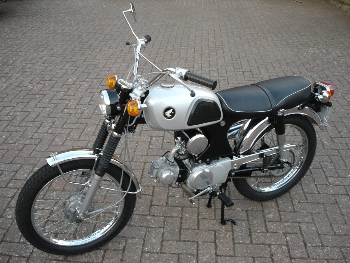 hight resolution of show us yours lawrence murphy s 1967 honda cl90 classic motorcycle mechanics