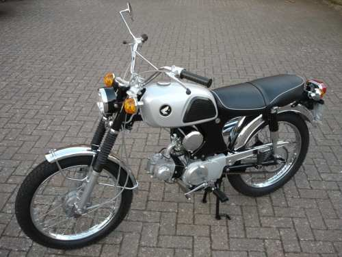 small resolution of show us yours lawrence murphy s 1967 honda cl90 classic motorcycle mechanics