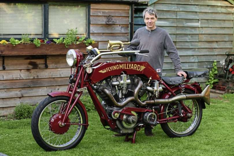 ALLEN MILLYARD TO TAKE STAR ROLE AT LONDON CLASSIC BIKE SHOW AT KEMPTON