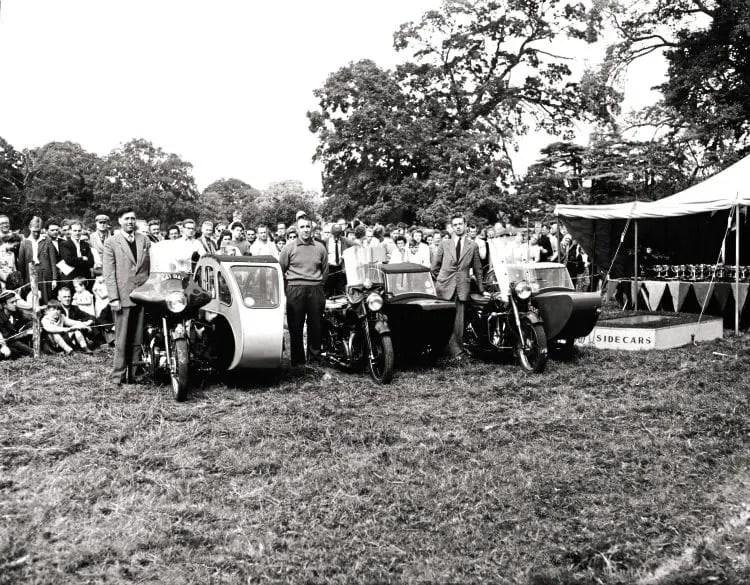 Watsonian Sidecar Rally, Beaulieu Abbey, August 1959