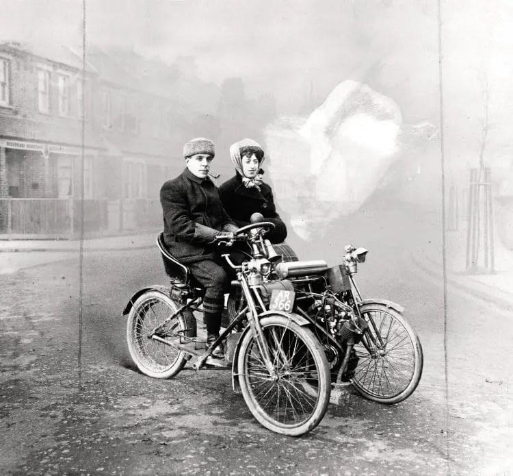 Thomas three-wheeler