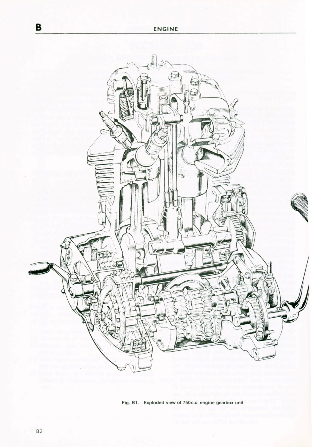 Triumph Workshop Manmual for T140V T140E Bonneville TR7V