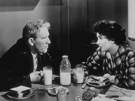 Spencer Tracy and Elizabeth Taylor in Father of the Bride, Classic Movie, Vincente Minnelli