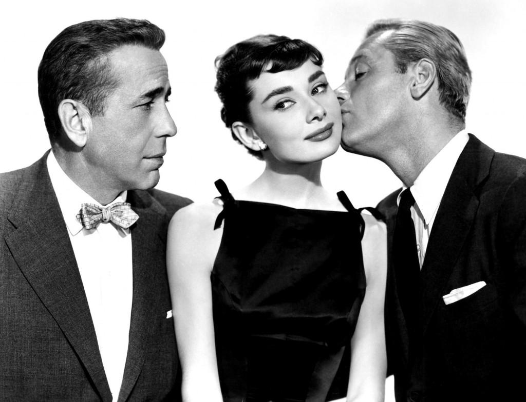 Audrey Hepburn as sabrina in sabrina, classic movie actress, billy wilder
