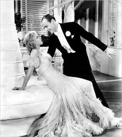 Fred Astaire and Ginger Rogers, The Gay Divorcee, dancing to Night and Day, Cole Porter, Mark Sandrich